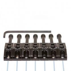 GT PN 0080 B7 - GHOST Floyd Rose saddles (7 pcs) - black