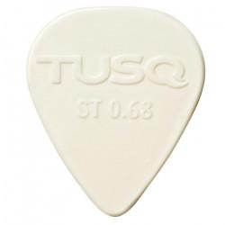 TUSQ Plektren Bright Standard White