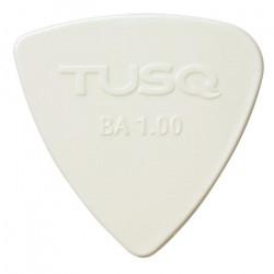 TUSQ Plektren Brigth Bi-Angle White