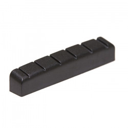 GT PT 6642 00 - BLACK TUSQ XL nut 6 String Electric - Nut 42 x 6 mm