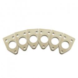 Ratio InvisoMatch PRT-952-216 - Premium Mounting Plates, 90 Degree Hole - Nickel