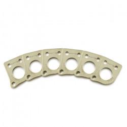 Ratio InvisoMatch PRT-952-214 - Premium Mounting Plates, 45 Degree Hole - Nickel