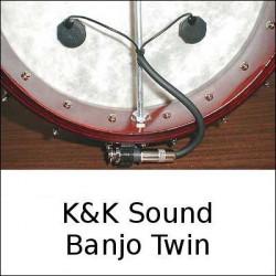 K&K Sound - Banjo Twin Tonabnehmer