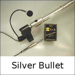 K&K Sound - Silver Bullet Microphone Solo