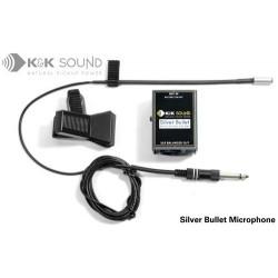 K&K Sound - Silver Bullet XLR Miicrophone