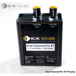 K&K Sound - Dual Channel Pro Stereo Preamp