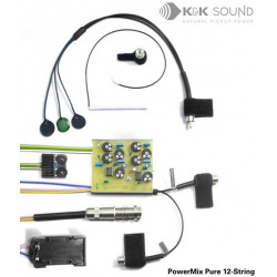K&K Sound - PowerMix Pure 12-String Pickup