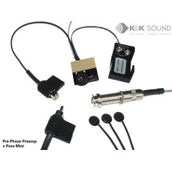 K&K Sound - Pure Western Mini Pickup with Pre-Phase Preamp