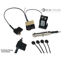 K&K Sound - Pure Classic Pickup with Pre-Phase Preamp
